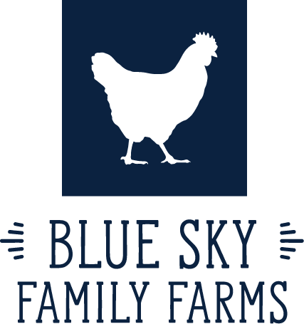 blue sky family farms logo