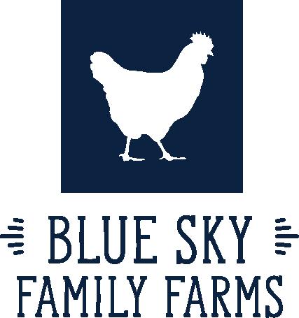 blue sky family farms logo