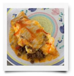 inside out omlet