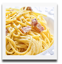 coops authentic carbonara