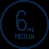 6 milligrams protein